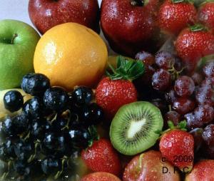 Fruta, fuente de fibra