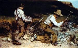 Gustave Courbet - Los Picapedreros